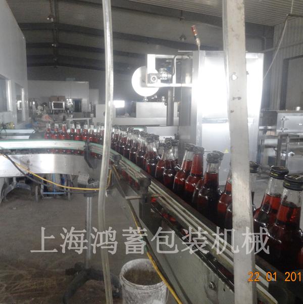 含氣飲料封口生產線