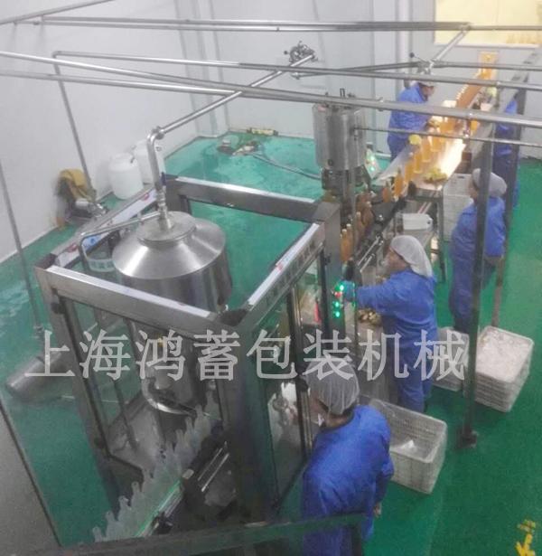 果醋灌裝生產線(熱灌裝)